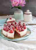 Erdbeer-Panna-Cotta-Tarte © Das Knusperstübchen
