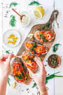 Stullen mit Karottenlachs © eat this!