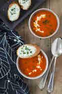 Paprika-Orangen-Suppe © Eine Prise Lecker