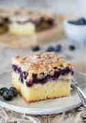 Blaubeer-Buttermilch-Kuchen © Kleines Kulinarium