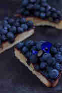 Blaubeer-Frangipane © Lisbeths Cupcakes and Cookies