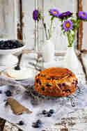 Glutenfreier Blaubeerkuchen © Die Seelenschmeichelei
