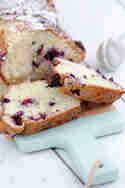 Quarkkuchen mit Heidelbeeren © Tulpentag