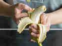 Banane - der schnelle Snack für zwischendurch.