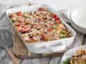Vegetarische Gemüselasagne mit Tofu & Ricotta