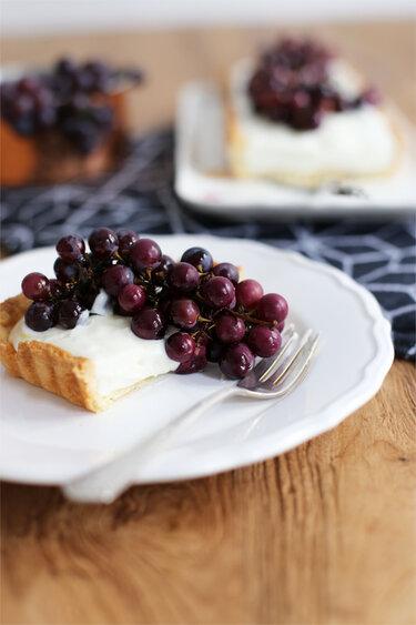 Traubentarte_A cake a day