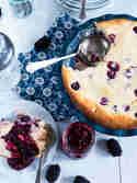 Brombeer-Cheesecake-Auflauf © Meine Küchenschlacht