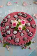 Brombeer-Eistörtchen © Lisbeths Cupcakes and Cookies