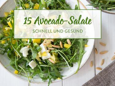 15 Raffinierte Avocado Salate Die Du In 25 Min Machen Kannst