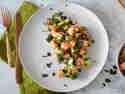 Exotischer Gurkensalat mit Melone