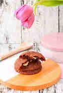 Schokocookies mit flüssigem Kern © Cook and bake with Andrea