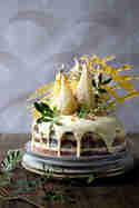 Birnen-Amaretto-Torte © Foodlovin