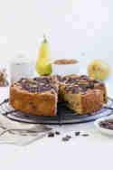 Birnen-Mandel-Schokoladen-Kuchen © Maras Wunderland