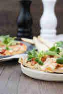 Pizza mit Ziegenkäse und Birne © Cook and bake with Andrea