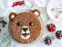Brummbär-Torte für den Kindergeburtstag