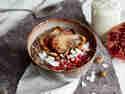 Porridge mit Kokos und Mandeln