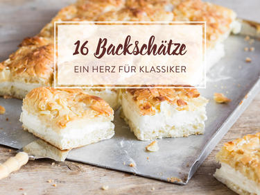 Unsere 16 Liebsten Kuchenklassiker Aus Omas Backbuch