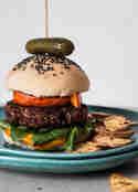 Rote-Bete-Linsen-Burger © A very vegan life