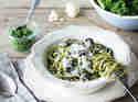 Spaghetti mit Grünkohl-Pesto