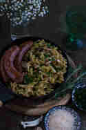 Pilzpasta mit Salsiccia © Foodistas