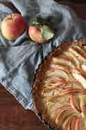 Apfel-Calvados-Kuchen © Nikes Herz tanzt