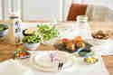 Tisch eindecken für Sushi-Party