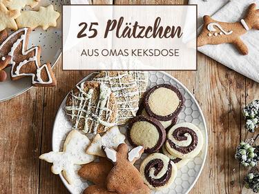 Omas Weihnachtskekse.Die Beliebtesten Plätzchen 25 Klassiker Aus Der Weihnachtsbäckerei