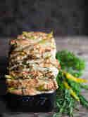 Zupfbrot mit Frischkäse und Kräuterbutter © S-Küche