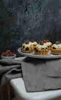 Cranberry-Orangen-Cupcakes © Möhreneck