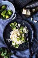 Spaghetti mit Gorgonzola © Dee's Küche