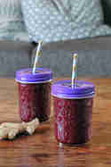 Rote-Bete-Smoothie mit Ingwer © Transglobal Pan Party