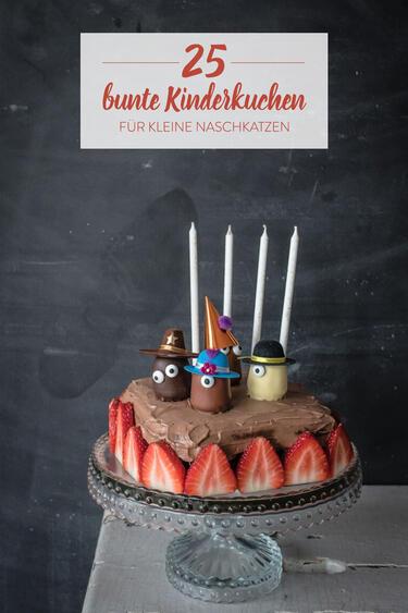 25 Kuchen Fur Kinder Die Kleine Naschkatzen Glucklich Machen
