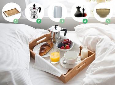 5 begleiter f rs fr hst ck im bett. Black Bedroom Furniture Sets. Home Design Ideas