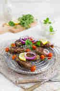 Cevapcici mit Minz-Joghurt-Dip © Jasmin Krause | KüchenDeern