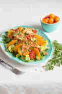 Fattoush mit Orangen © Sabrina Kiefer & Steffen Jost | Feed me up before you go-go