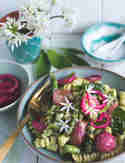 Frühlings-Nudelsalat mit Spargel und Bärlauch © Simone Filipowsky | S-Küche