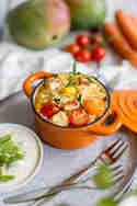 Gebackener Mango-Gemüse-Reis © Sarah Timplan | Alles und Anderes
