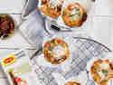 Herzhafte Pecorino-Muffins