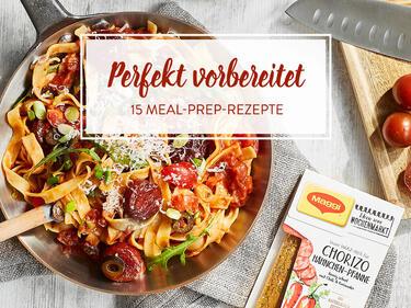 Kochen Mitnehmen Genießen 15 Einfache Meal Prep Rezepte