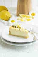Zitronen-Cheesecake mit weißer Schokolade © Zimtkeks und Apfeltarte