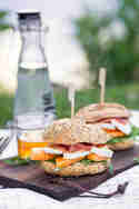 Melone-Schinken-Burger © Vera Wohlleben | Nicest Things