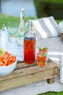 Erdbeerlimonade mit Basilikum © Foodistas