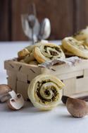 Pilz-Zucchini-Blätterteigschnecken © Maras Wunderland