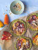 Mini-Veggie-Pizza mit Brokkoliboden © S-Küche