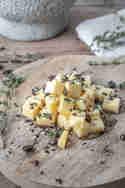 Käse-Snack mit Kaffee und Honig © Saskia in der Au | Foodlikers