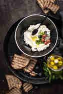 Labneh- selbstgemachter Frischkäse © trickytine