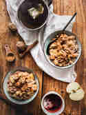 Winterlicher Bratapfel-Porridge © Sabrina Dietz | Purple Avocado