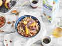 Dinkel-Porridge mit Pflaumen und Zimt