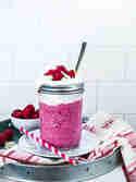 Himbeer-Frozen Joghurt Shake © Stephanie Just | Meine Küchenschlacht