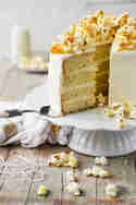 Popcorn-Torte mit salzigem Karamell-Topping © Jennifer Mönchmeier | Monsieurmuffin